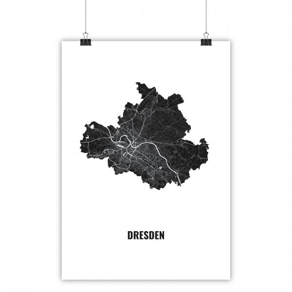 Poster Dresden Grundriss Katapult Shop