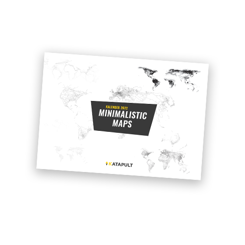 Minimalistic Maps - Kalender 2022